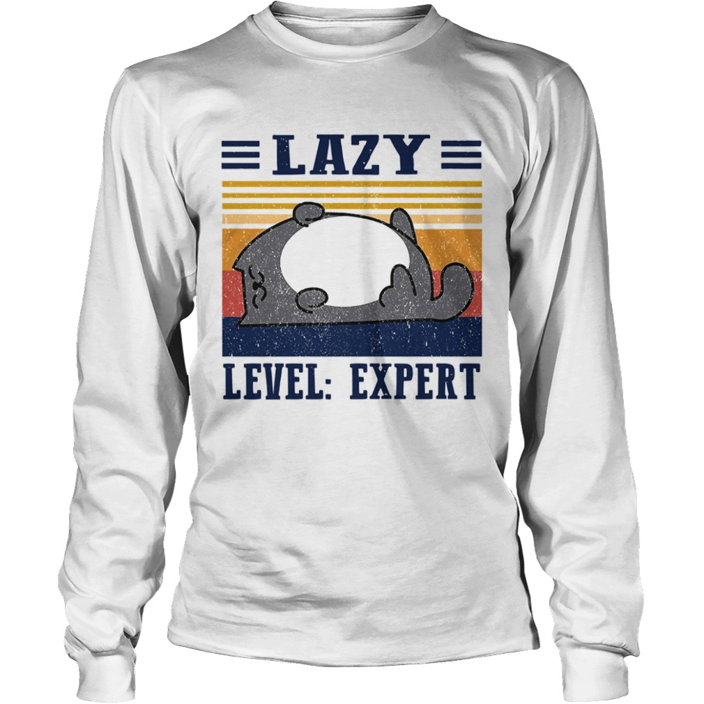 Lazy Level Expert Vintage  Long Sleeve