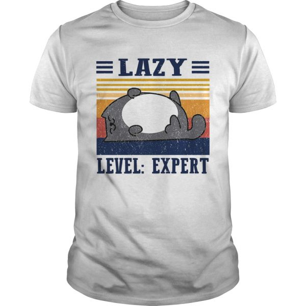 Lazy Level Expert Vintage shirt