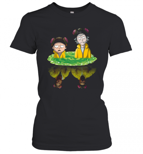 Rick And Morty Walter Jesse Breaking Bad T-Shirt Classic Women's T-shirt