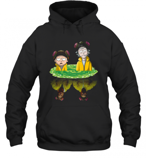 Rick And Morty Walter Jesse Breaking Bad T-Shirt Unisex Hoodie