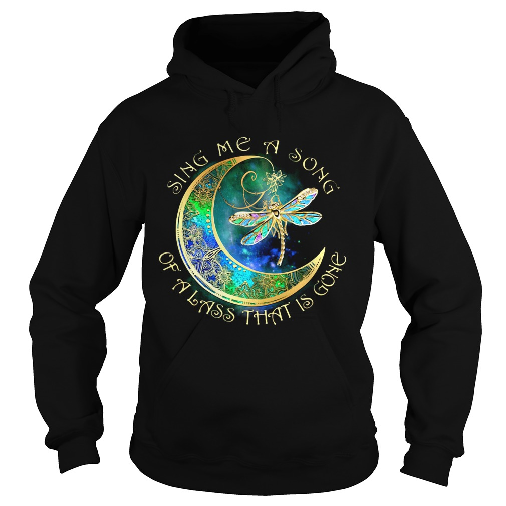 Sing me a song of a lass that is gone moon Dragonfly  Hoodie