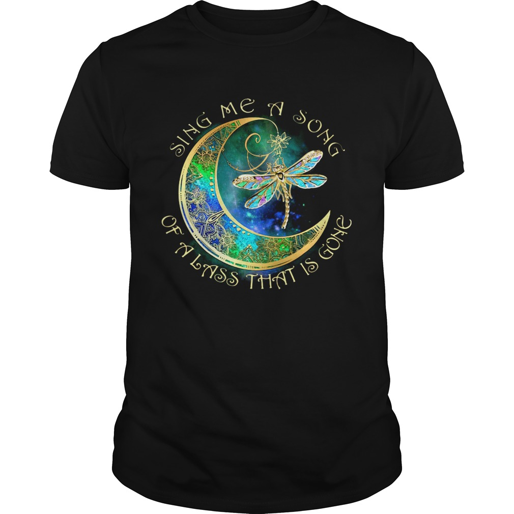 Sing me a song of a lass that is gone moon Dragonfly  Unisex