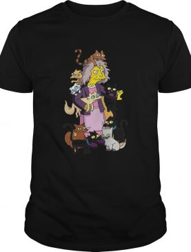 The Simpsons Crazy Cat Lady Eleanor Abernathy shirt