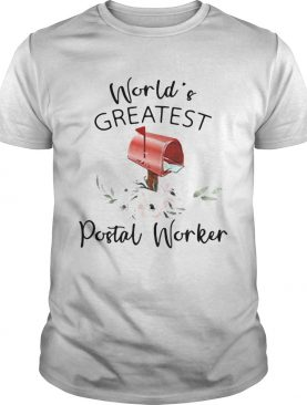 Worlds Greatest Postal Worker Mailbox shirt