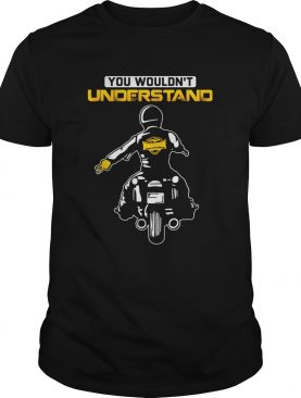 You Wouldnt Understand Motorcycle Lead The Delegation shirt