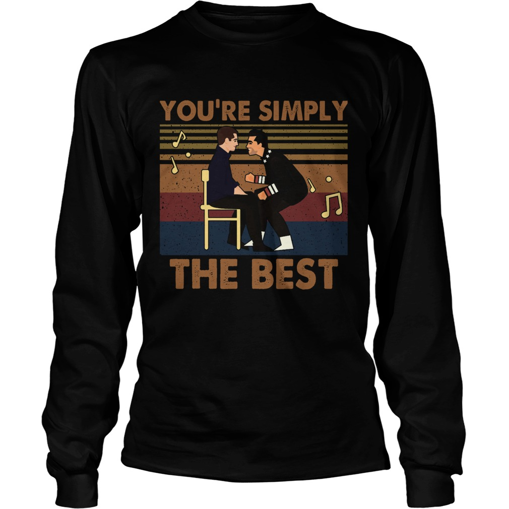 Youre Simply The Best Vintage  Long Sleeve