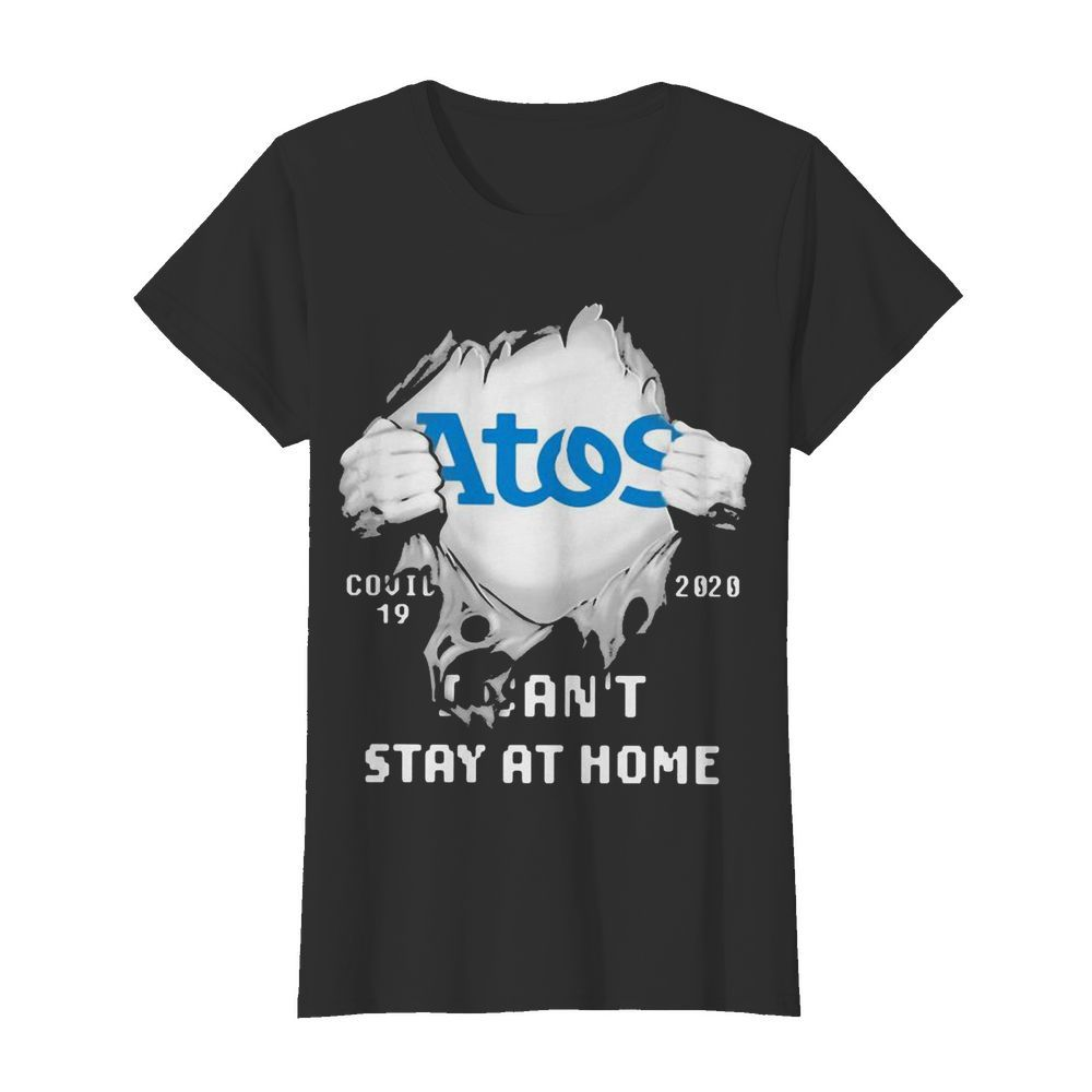 Blood inside me Atos Syntel covid-19 2020 I can't stay at home  Classic Women's T-shirt