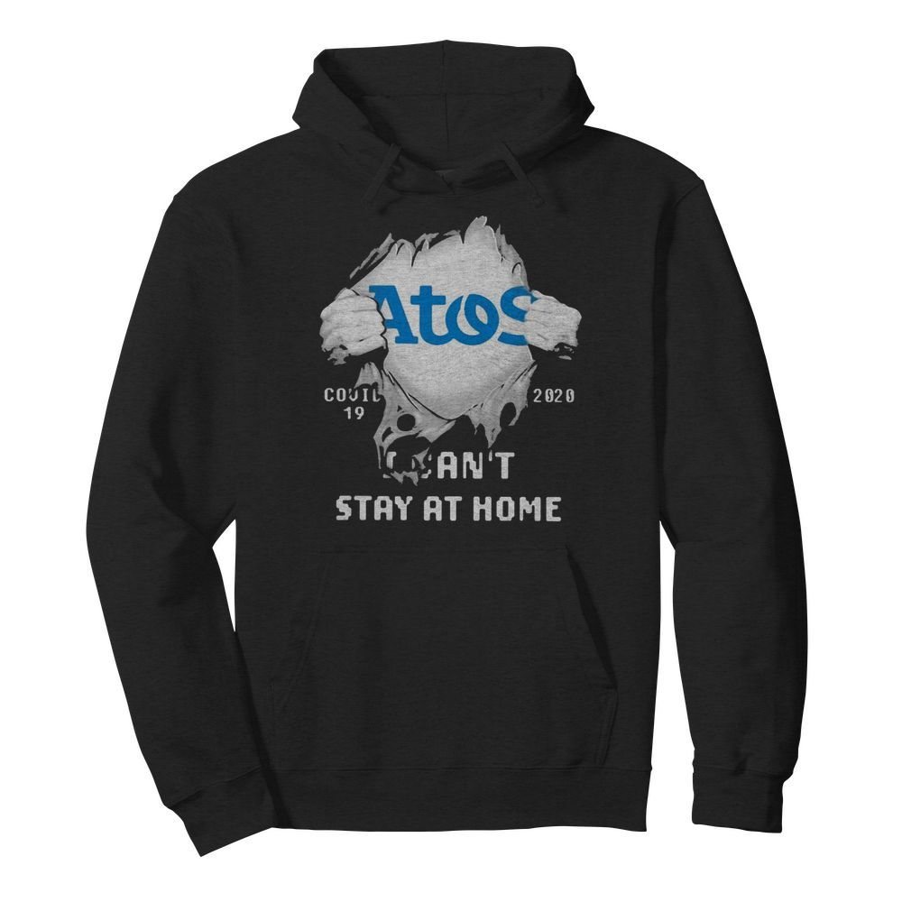 Blood inside me Atos Syntel covid-19 2020 I can't stay at home  Unisex Hoodie