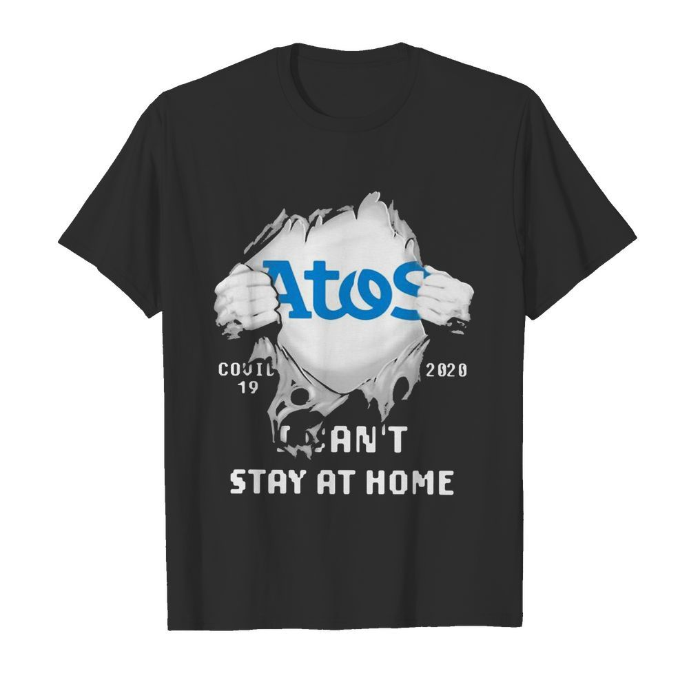 Blood inside me Atos Syntel covid-19 2020 I can't stay at home  Classic Men's T-shirt