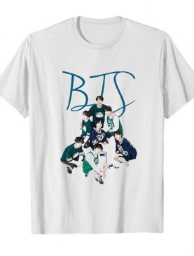 Bts band angels of army sports shirt