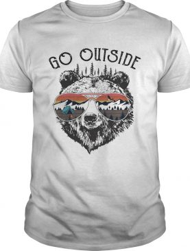 Camping go outside worst case scenario a bear kills you shirt
