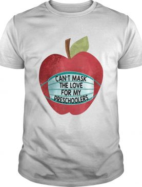 Cant Mask The Love For My Students shirt