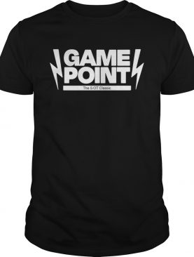 Game Point The 5OT 2020 shirt