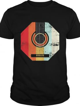 Guitar Vintage retro shirt