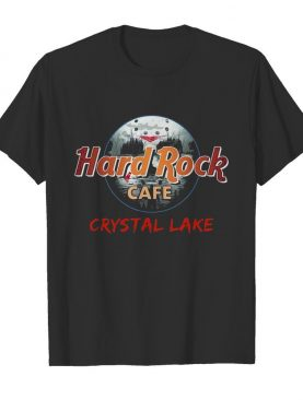 Halloween hard rock cafe crystal lake shirt