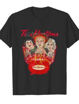 Halloween hocus pocus witch tim hortons shirt