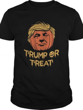 Halloween trump or treat pumpkin shirt