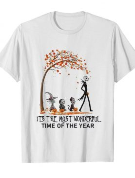 Jack Skellington It's The Most Wonderful Time Of The Year shirt