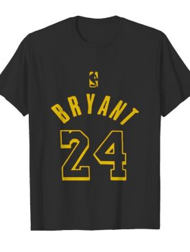 Kobe bryant 24 nba basketball logo shirt