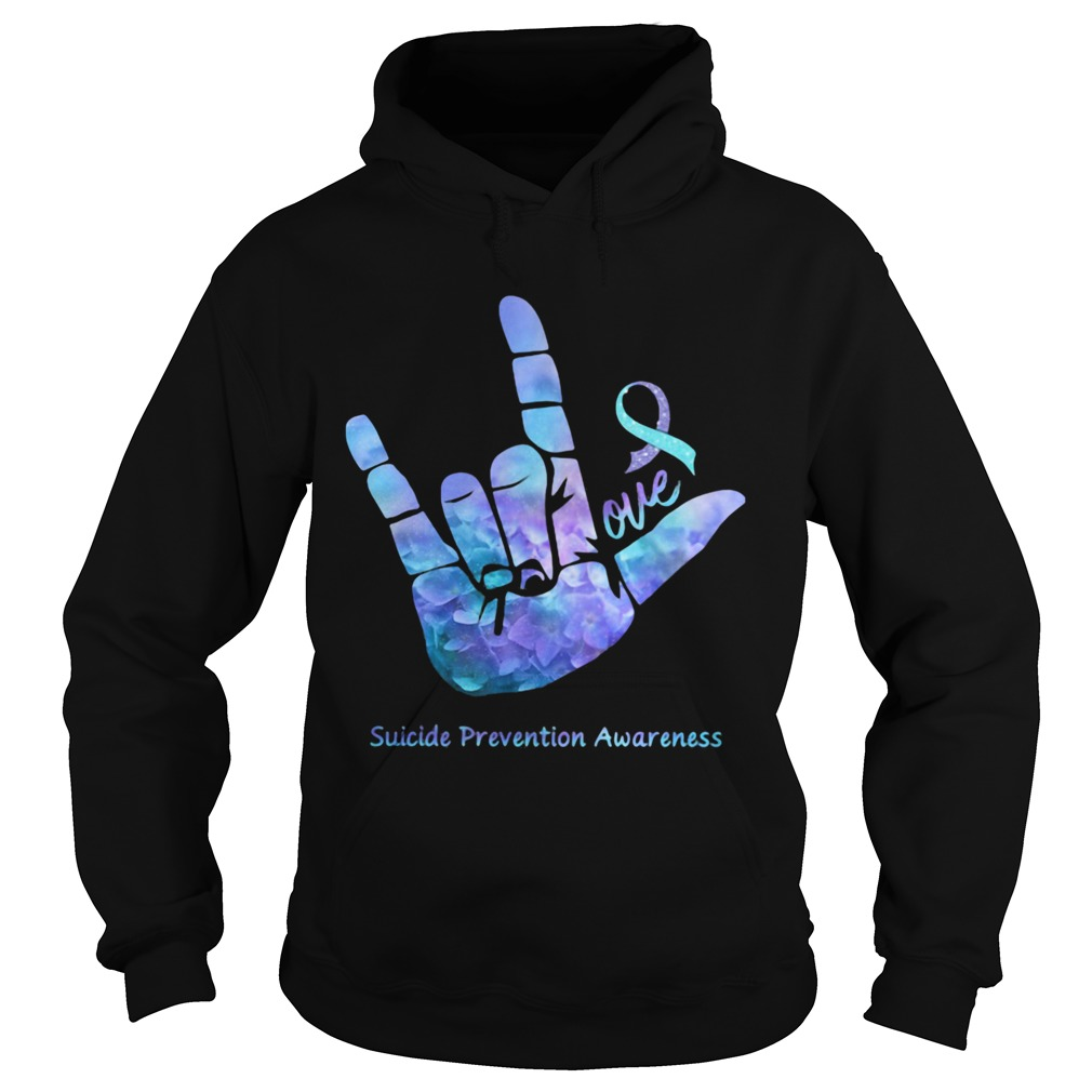 Love Suicide Prevention Awareness  Hoodie