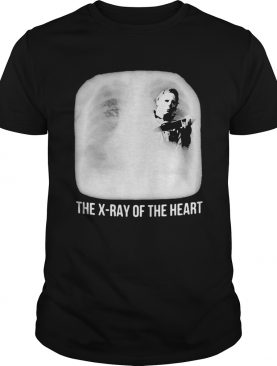 Michael myers the xray of the heart shirt
