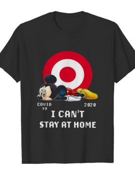 Mickey Mouse Circle Covid-19 2020 I Can'T Stay At Home
