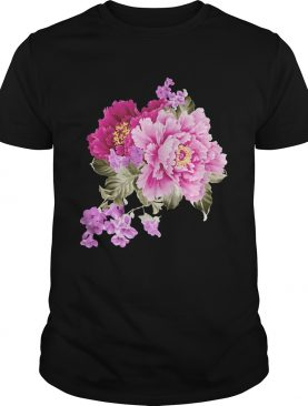 Pink And Purple Flowers shirt