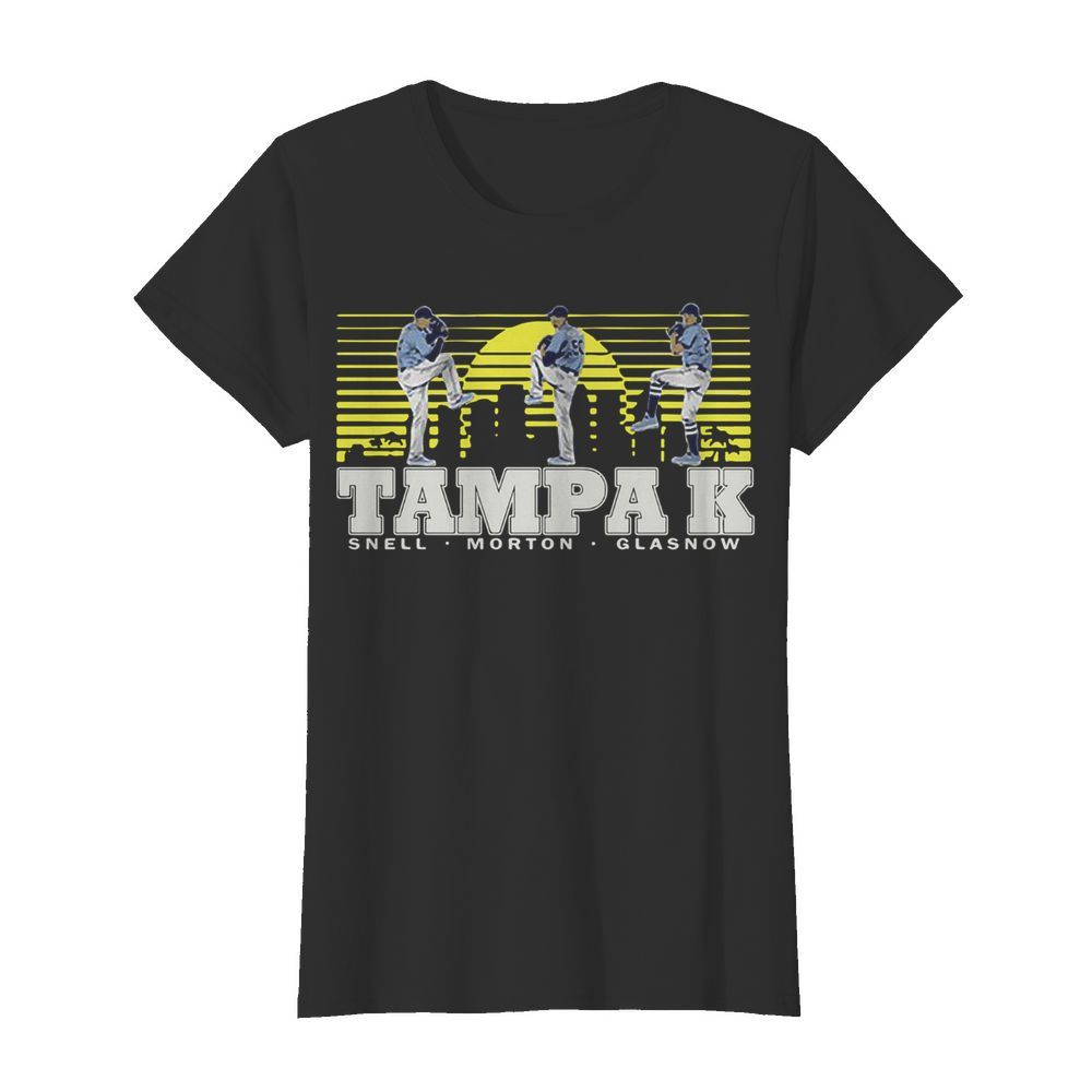 Snell- Morton- Glasnow- Tampa K Official  Classic Women's T-shirt