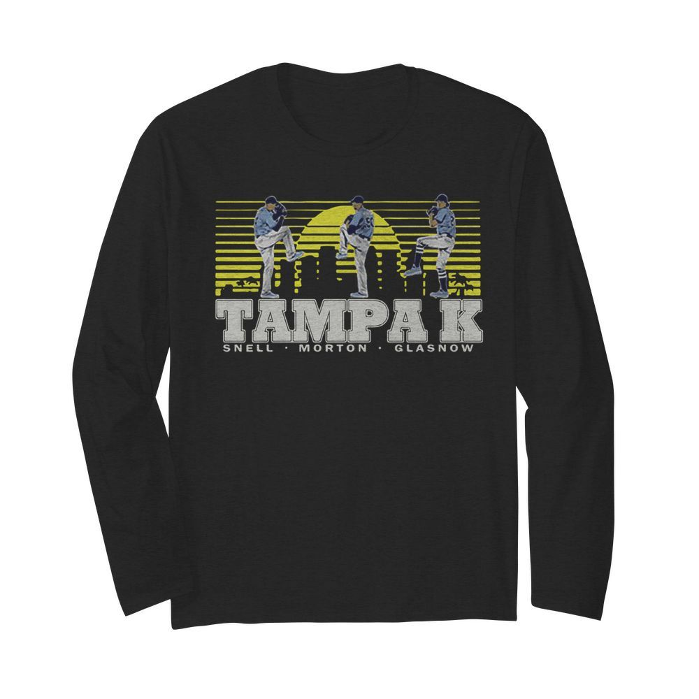 Snell- Morton- Glasnow- Tampa K Official  Long Sleeved T-shirt