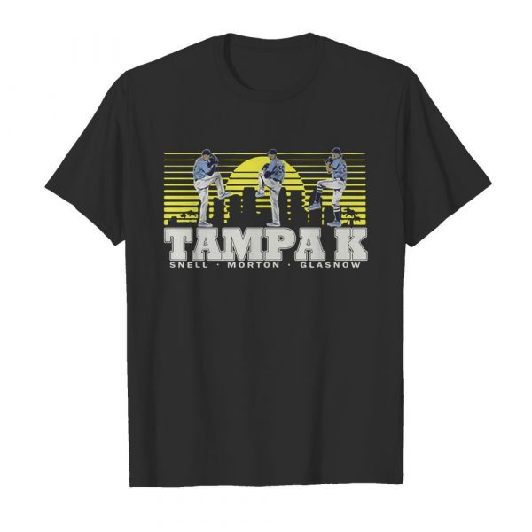 Snell- Morton- Glasnow- Tampa K Official shirt
