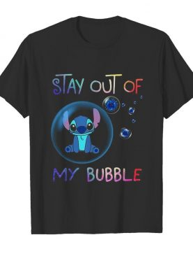 Stitch stay out of my bubble covid-19 shirt