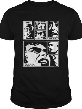 The Rocky Horror Picture Show Janet Dr Scott Brad Rocky shirt
