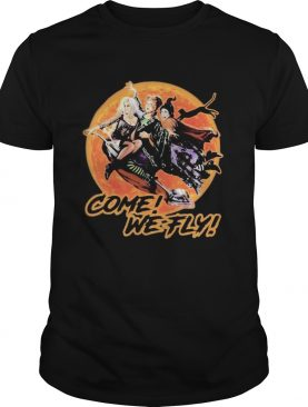 Witch Come we fly sunset shirt