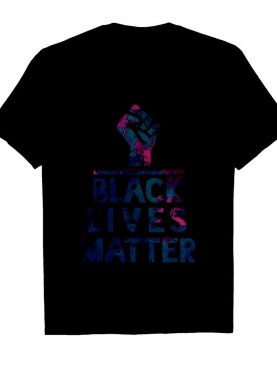 Black Lives Matter water color shirt