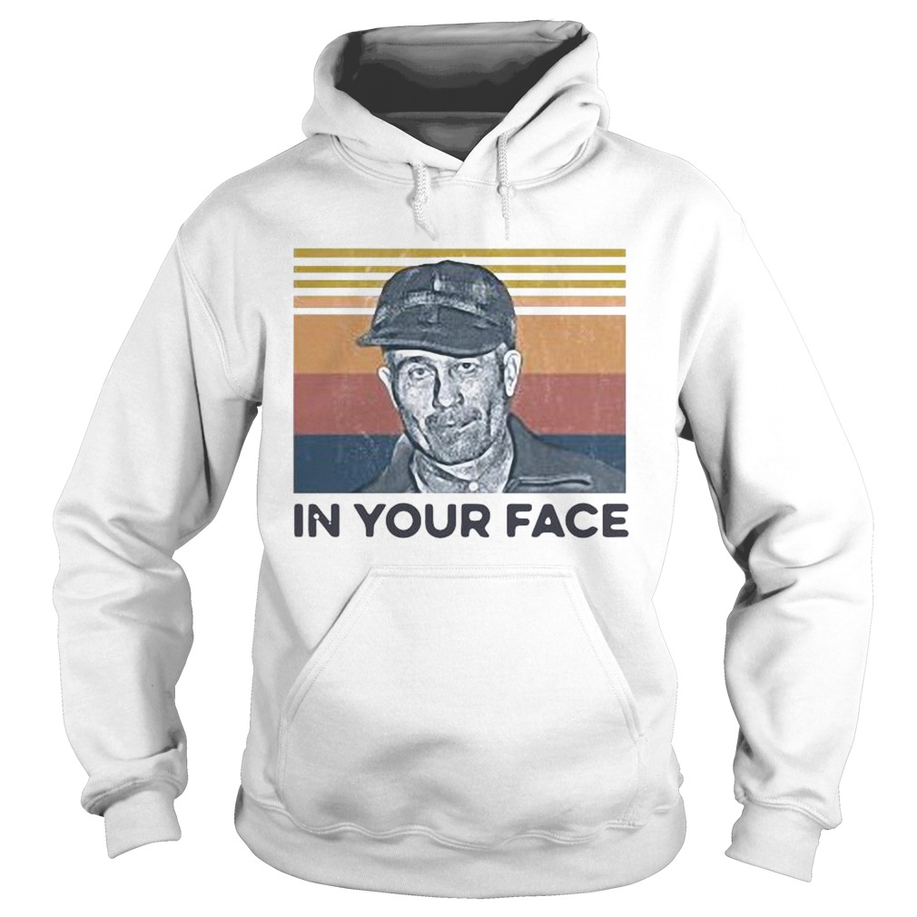 Ed Gein In Your Face Vintage  Hoodie