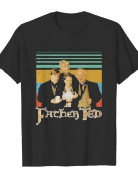 Father ted vintage retro shirt