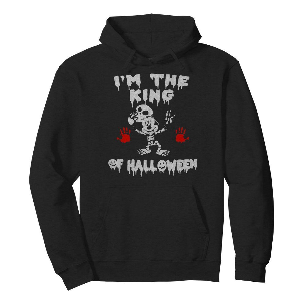 I'm The King Of Halloween Mickey Mouse Disney  Unisex Hoodie