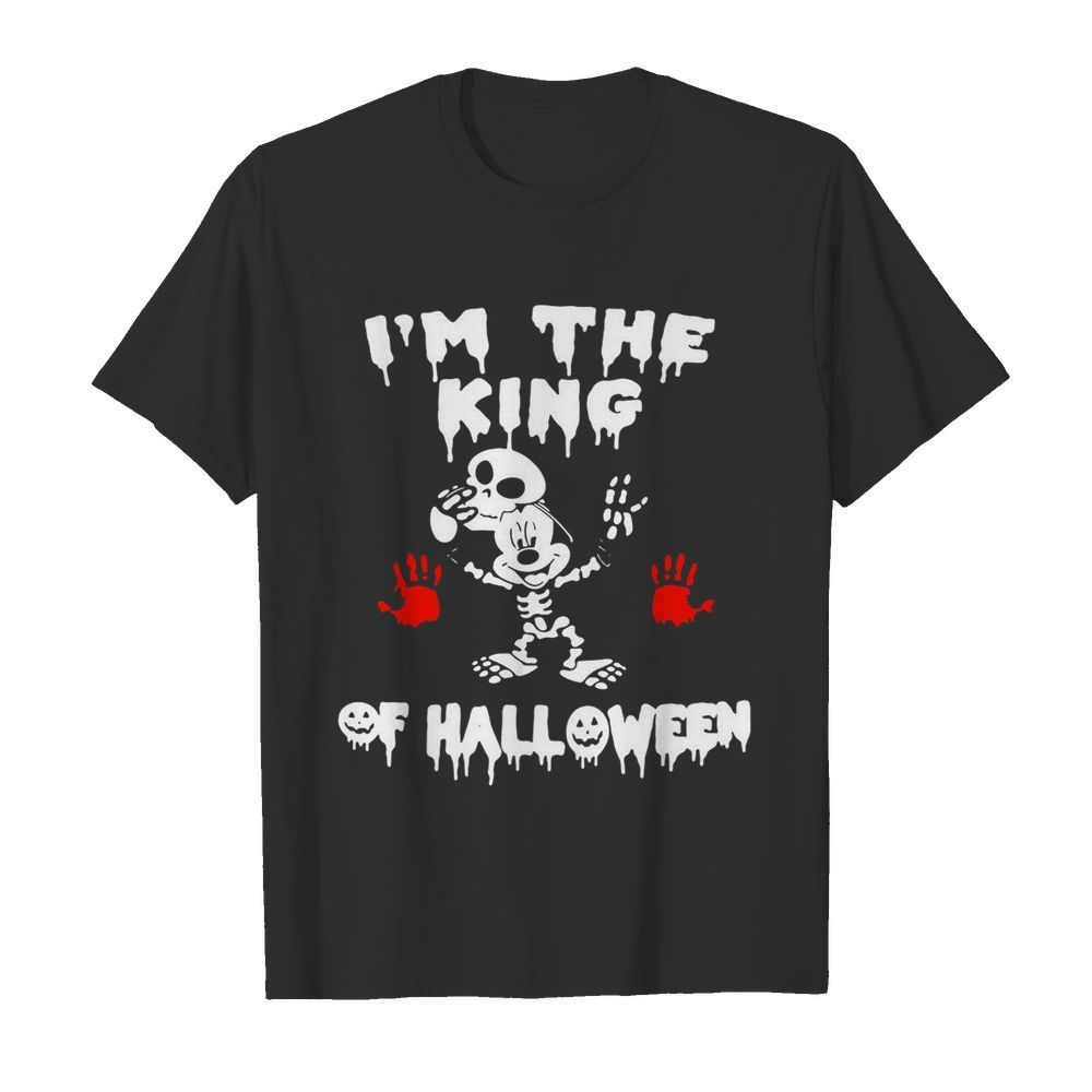 I'm The King Of Halloween Mickey Mouse Disney  Classic Men's T-shirt