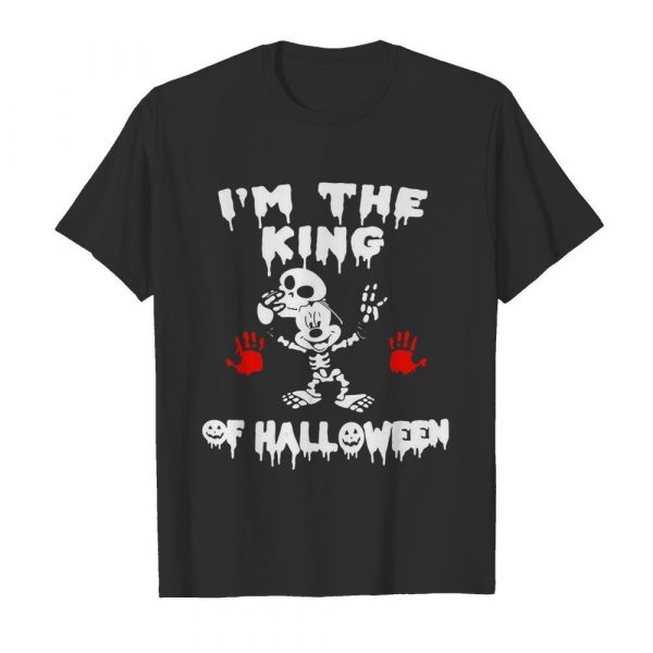 I'm The King Of Halloween Mickey Mouse Disney shirt