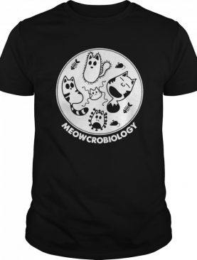 Meowcrobiology Meow Cats Lovers shirt