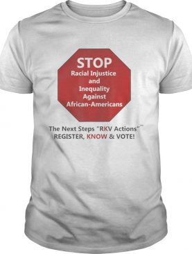 Next Steps RKV Actions shirt