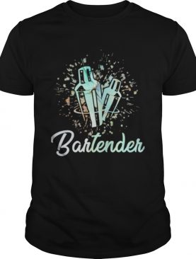 Serve drink bartender shirt