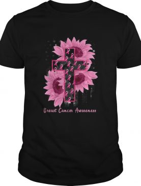 Sunflower Breast Cancer Awareness shirt