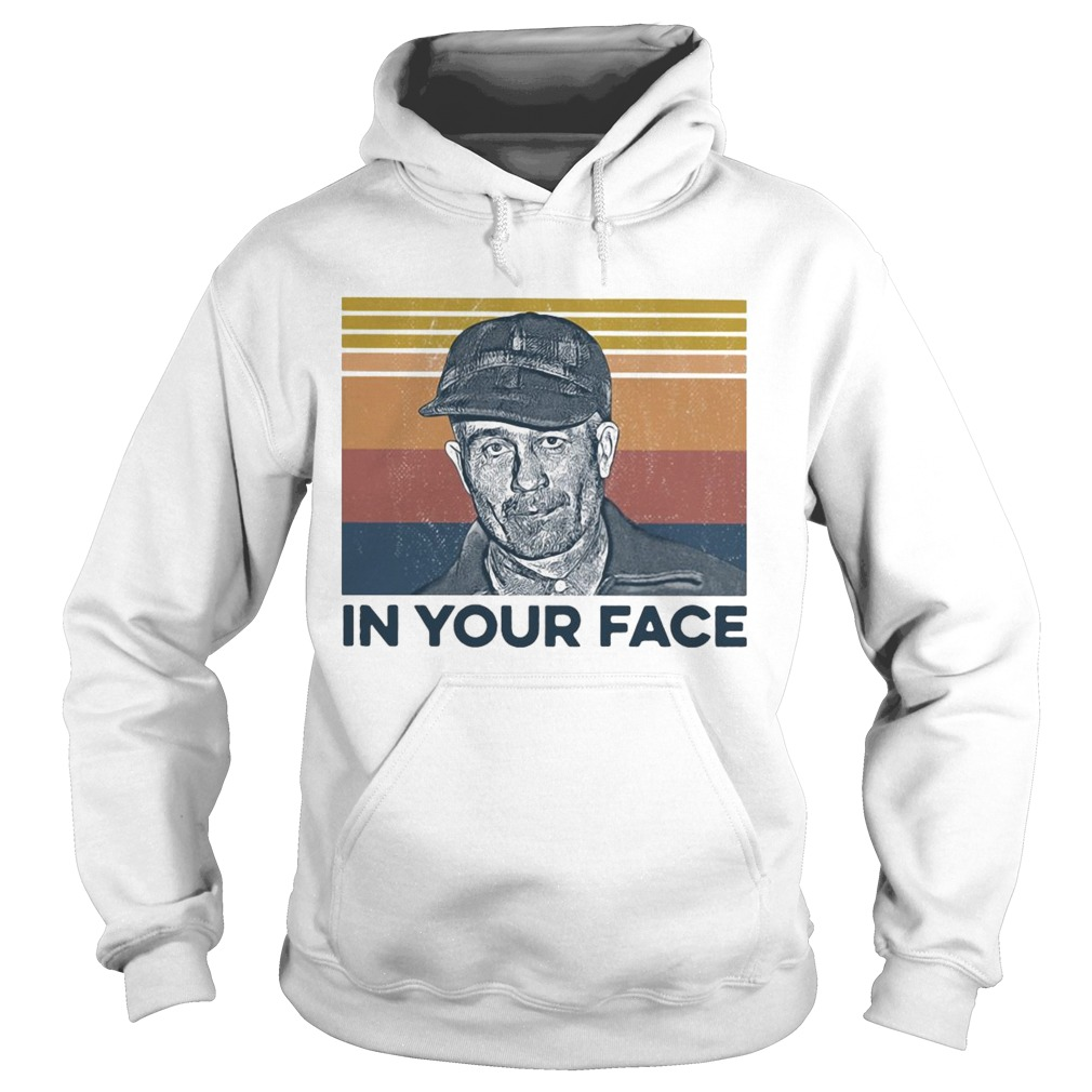 True Crime In Your Face Vintage  Hoodie