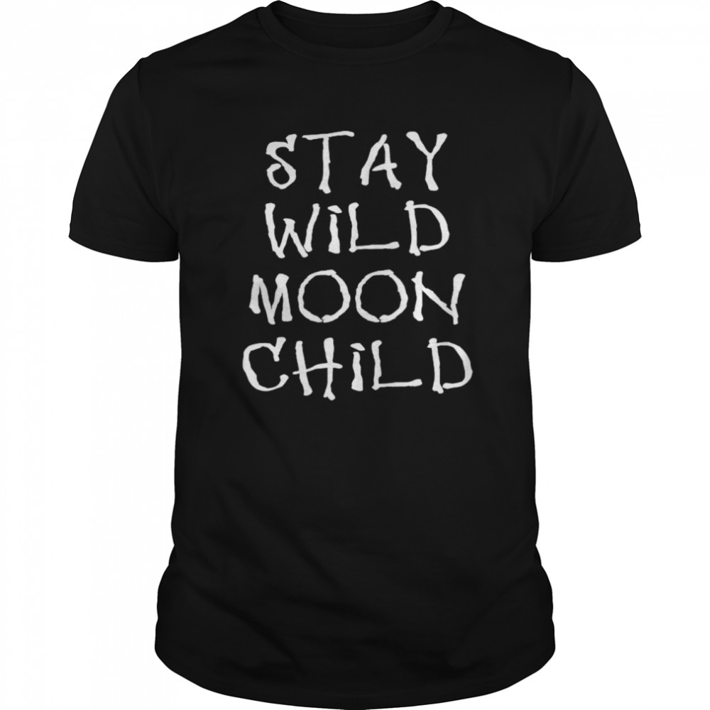 Witchcraft Stay Wild Moon Child  Classic Men's T-shirt