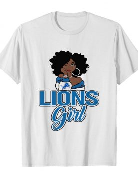 Women Detroit Lions Girl shirt