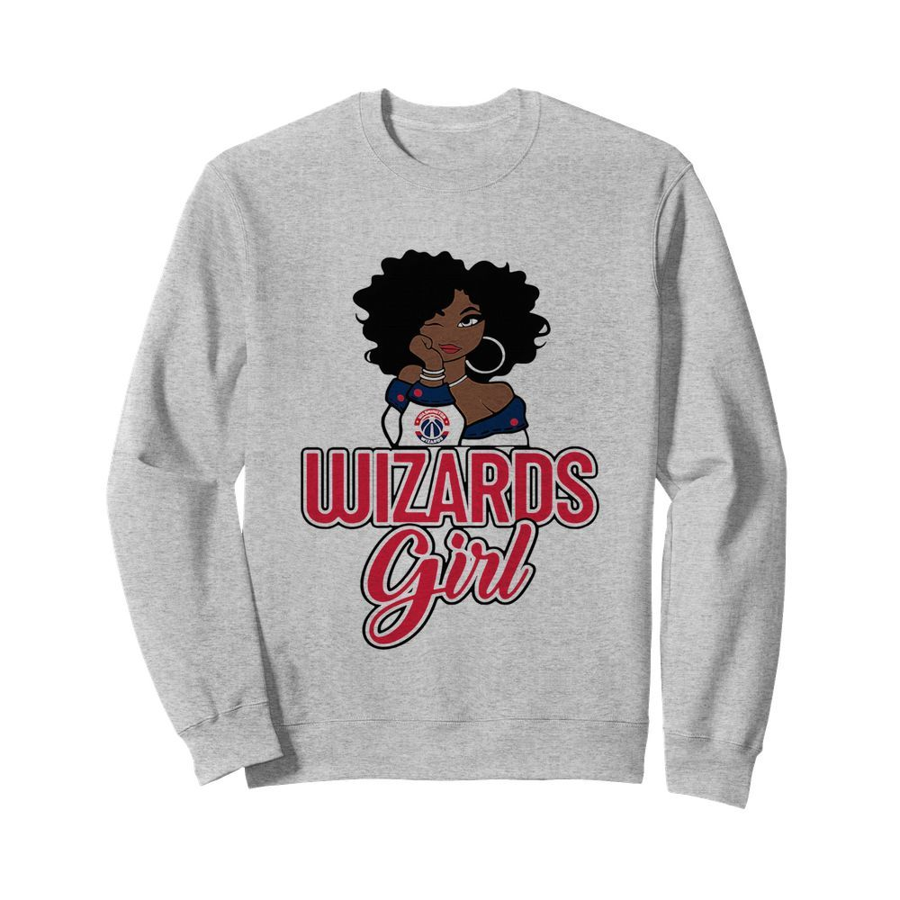 Women Washington Wizards Girl  Unisex Sweatshirt