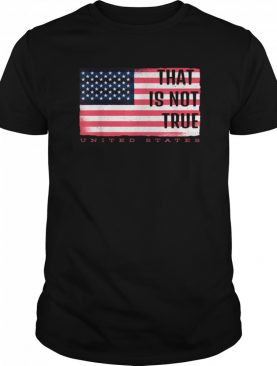 Presidential Debate that is not true Biden Trump shirt