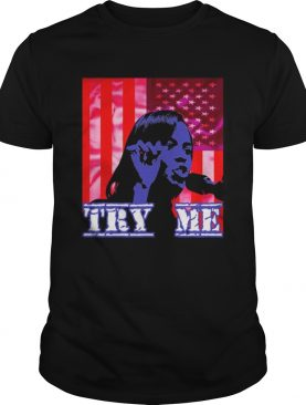 Candace Owens American Flag Patriot Try Me shirt