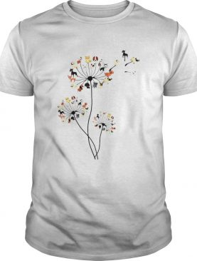 Dandelion and dogs shirt